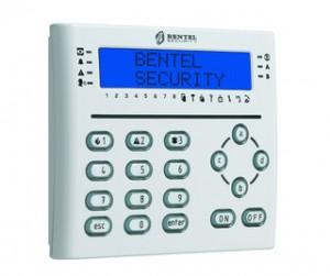 Tastiera LCD Bianca con lettore di prossimità e 3 Terminali I/O programmabili
