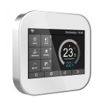 Termostato Wifi LKM-TRM02WH con Display LCD a Colori Touch Screen per Caldaia gestibile tramite APP
