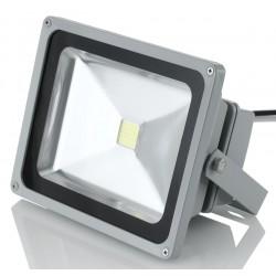 Faro LED 50W con Luce LED a 6500K Colore Bianco Freddo Illuminazione per Esterno