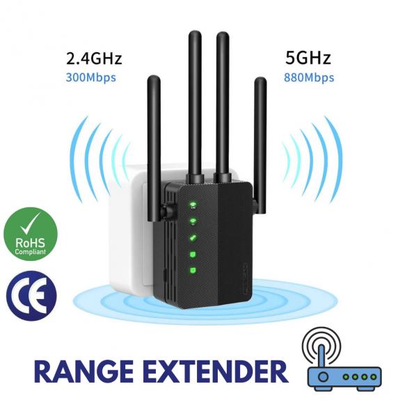 Foscam WiFi Range Extender 1200 Mbps