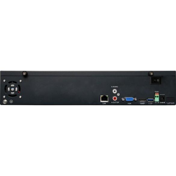 LKM® Registratore NVR 25 canali per telecamere ed impianti IP ad alta risoluzione - HD Foscam onvif compatibile