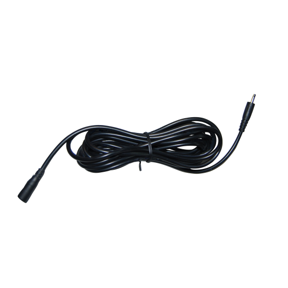 Cavo estensione prolunga rete elettrica 3m colore NERO per telecamere da interno