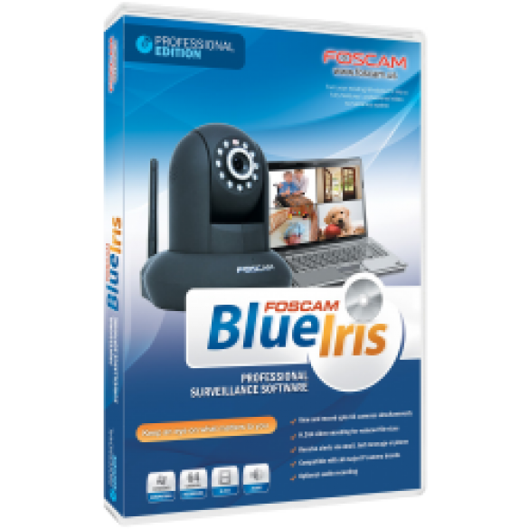 BlueIris Software di videosorveglianza per telecamere IP - Versione Lite 1 Telecamera