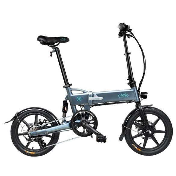 [FATTURA ITALIANA / BONUS] FIIDO D2S Bicicletta Elettrica Pieghevole con 250W Motore velocità Massima 25KM/H E-Bike Grigio 7.8Ah
