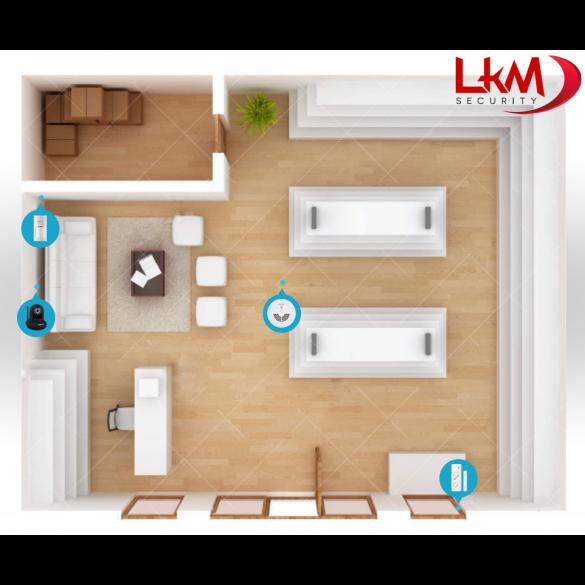 Allarme casa kit gsm wireless senza fili controllabile da - App per antifurto casa ...