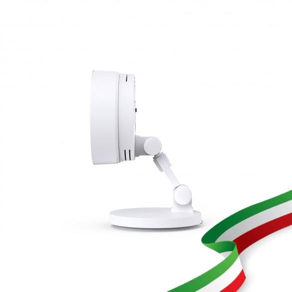 [IDEALE INTERNI INCUSTODITI / ANZIANI ] Foscam C2M Telecamera IP WiFi 2.4/5 Ghz HD 1080p (2.0 Megapixel), Visione notturna, Motion Detection, E-mail Alert, microSD slot