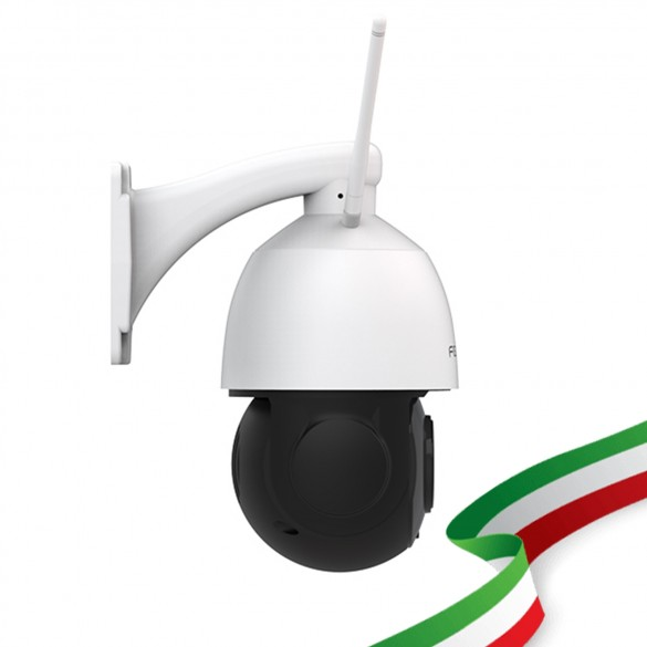 Telecamera IP da esterno Foscam SD2X WiFi 1080P PTZ con zoom ottico 18x audio integrato