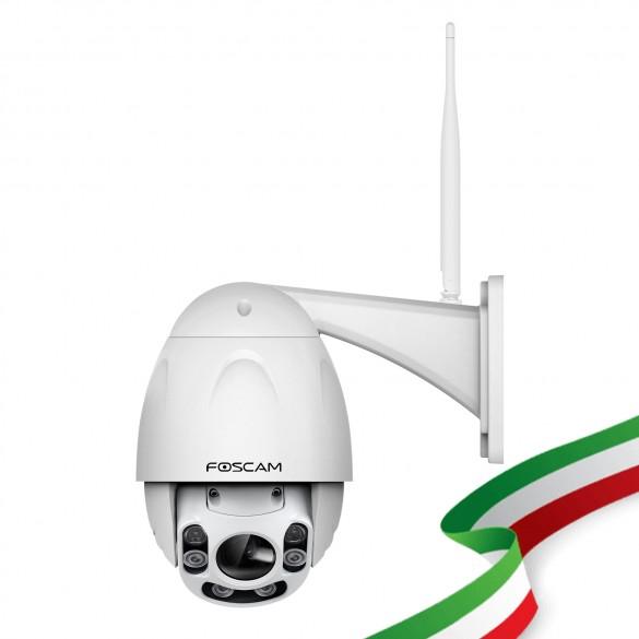 Telecamera Foscam FI9928P Motorizzata WiFi con Zoom 4x ad Alta Definizione 2 Megapixel