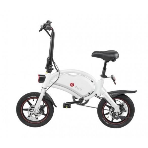 [FATTURA ITALIA] DYU D3 Plus. E-Power bike-Assistita bicicletta Elettrica 36V 10AH bici elettrica con 14 pollici pneumatici 250W 25Kmh Bonus Mobilità / Colore Bianco