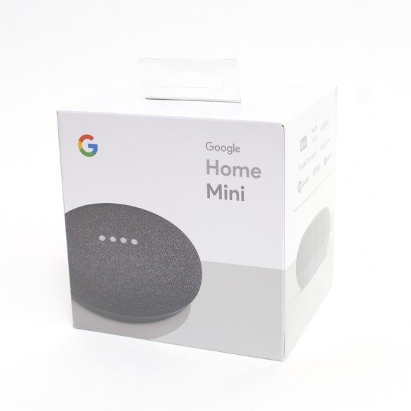Assistente Vocale Google Home Mini Grigio compatibile con Android e iOS