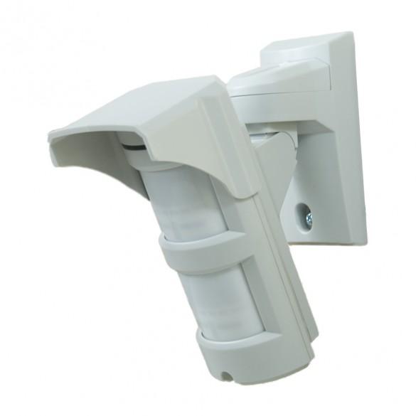 Doppio PIR Sensore di movimento rilevatore con obiettivo grandangolare