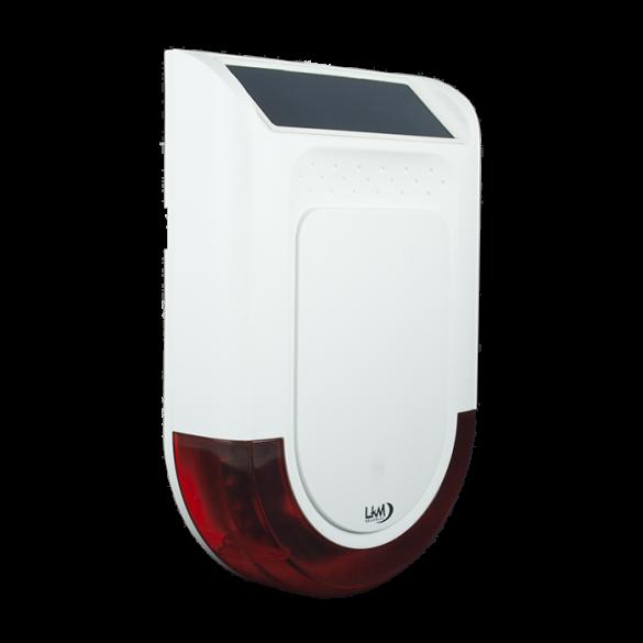 Sirena Wireless a 433 Mhz con pannello Solare a tenuta stagna