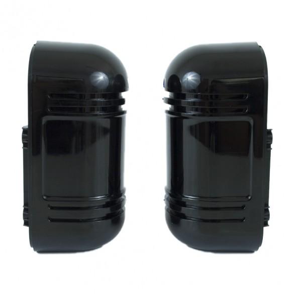 Rilevatore perimetrale anti infiltrati e protezione per intemperie atmosferiche