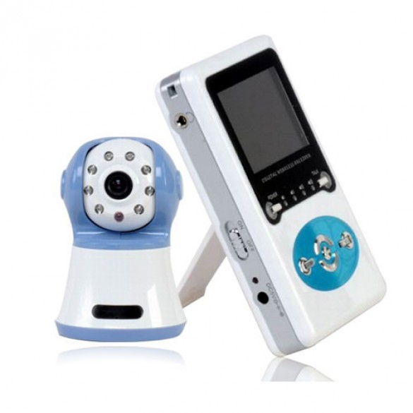 Baby Monitor Audio Video 2.4GHz Wireless Digital definizione VGA 480x240