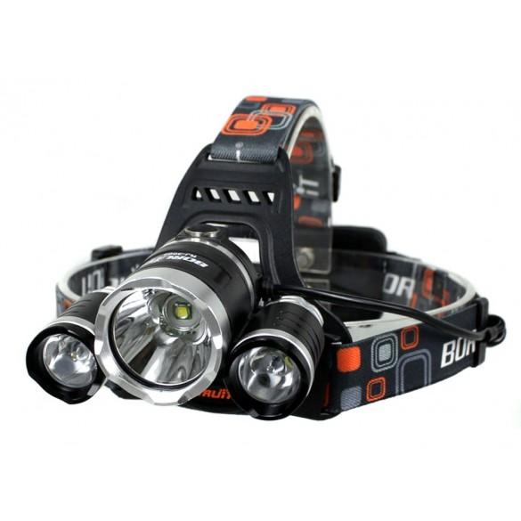 Luce Led Potente con 3 funzioni di illuminazione lampada LED a 5000 Lumen con cavo USB