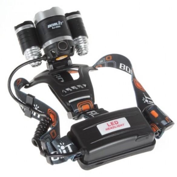 Luce Led Potente con 3 funzioni di illuminazione lampada LED a 5000 Lumen con Alimentatore 5V incluso
