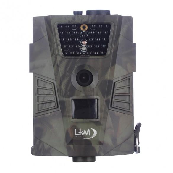 Telecamera Infrarossi Fototrappola con PIR LKM Security® con risoluzione a 12 Megapixel