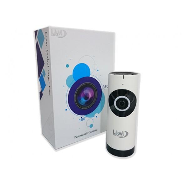 Telecamera IP Wireless LKM Security con ottica Fisheye HD funzione P2P