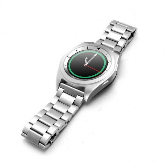 Smartwatch Android Metallo Bluetooth LKM Security con funzione cardiofrequenzimetro contapassi