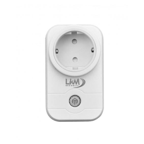 Presa Wifi LKM Security con Applicazione Gratuita per la gestione remota adatto per la Casa Intelligente