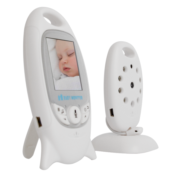Baby Monitor LKM Security® Audio Video 2.4GHz Wireless Digital definizione VGA 320x240 Pixel