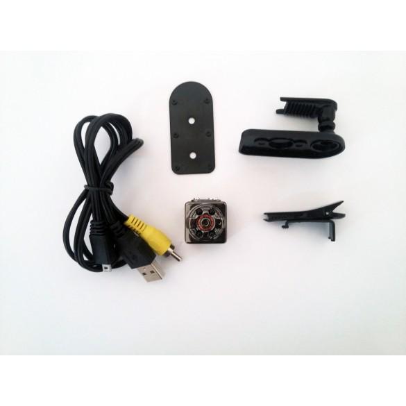 Telecamera Nascosta ad alta definizione Full HD 1080P cavo Video per la visione in diretta TV