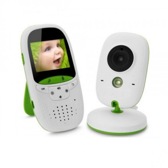 Baby Monitor LKM Security® Audio Video 2.4GHz Wireless Digital definizione VGA 640x480 Pixel
