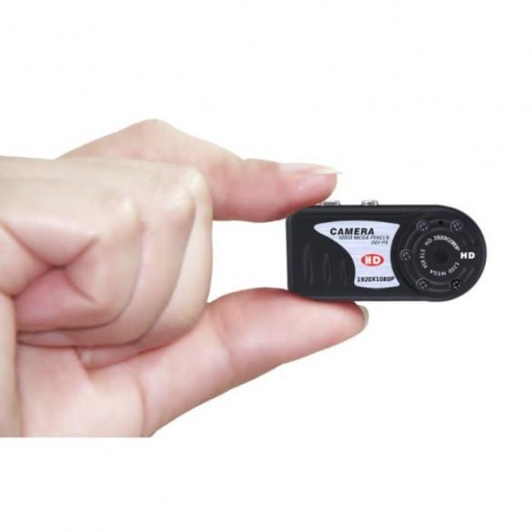 Mini Telecamera spia nascosta con registrazione MiniDV HD 1080P Foto audio e video