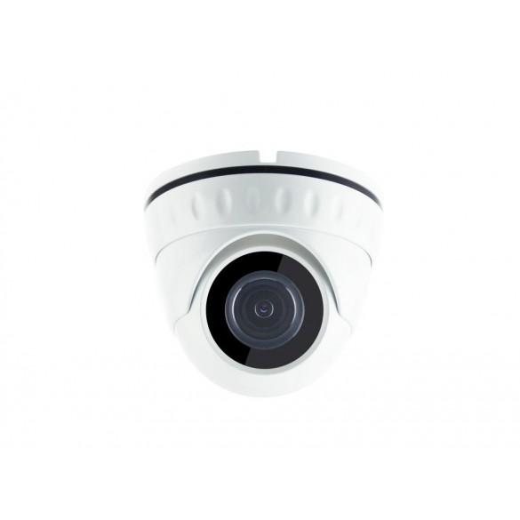 Kit Videosorveglianza 4 canali PoE LKM Security gestibile da App con Hard disk 1 Terabyte colore BIANCO
