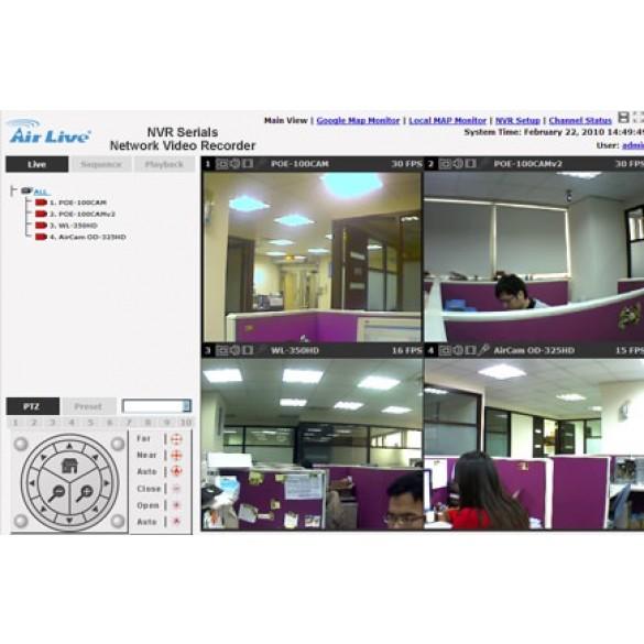 AirLive NVR8 Registratore di rete 8 canali con licenze