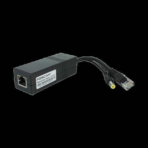 PoE Splitter Foscam 12 V compatibile con IEEE 802.3af fino a 100 metri