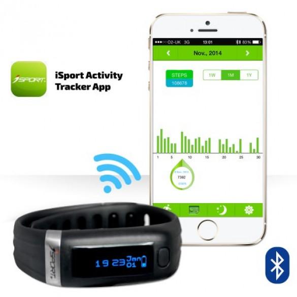 Smart-watch pedometro Bluetooth Activity Tracker W240
