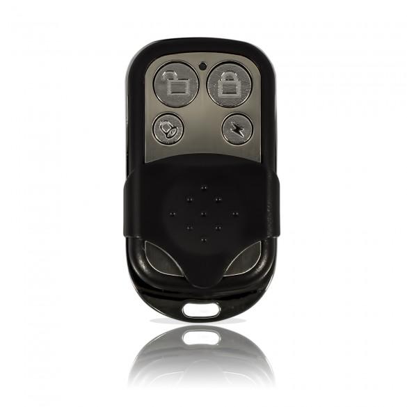 KIT Lite M2C Antifurto Allarme Casa LKM Security Kit Wireless Senza Fili Controllabile da Cellulare con App Gratuita. Menù con Sintesi Vocale in Italiano e Manuale in Italiano