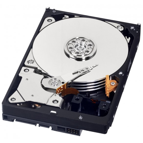 Hardisk Caviar Blu da 1 TB velocità 7200 RPM SATA 6 GB/s 64 MB Cache 3.5
