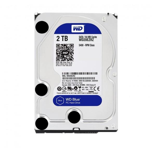 Hardisk Caviar Blu da 2 TB velocità 5400 RPM, SATA 6 GB/s, 64 MB Cache, 3.5