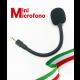 [ALTA QUALITA'] Microfono per Telecamere flessibile a tenuta stagna ideale per tutte le telecamere da esterno e tutti i dispositivi con jack da 3,5 mm