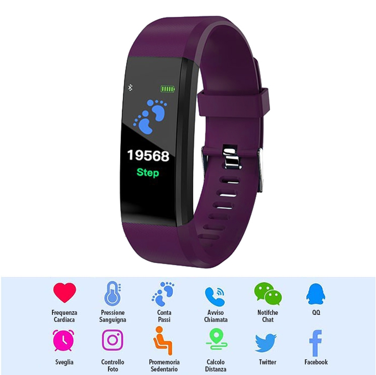 Smart Watch LKM security viola