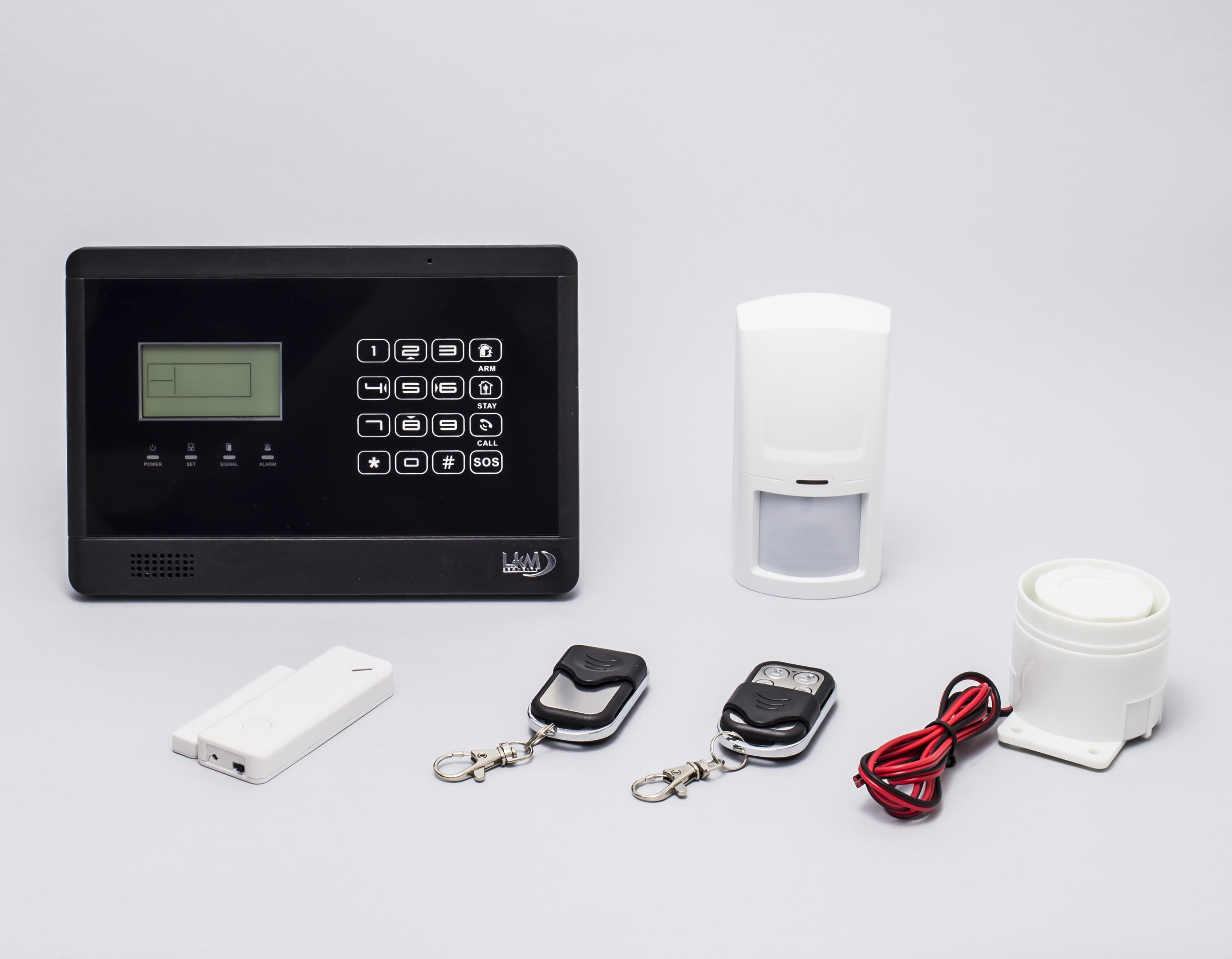 Allarme casa lkm security antifurto wireless senza wg yl007m2e - Allarme casa wireless ...