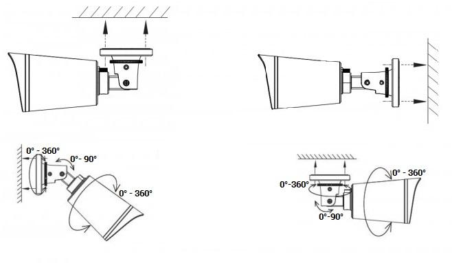 telecamera ip poe foscam fi9800e hd 720p impermeabile da