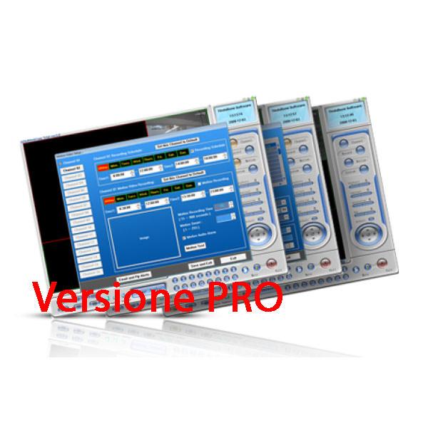 H264CAM Software di videosorveglianza per telecamere IP - Versione Professional