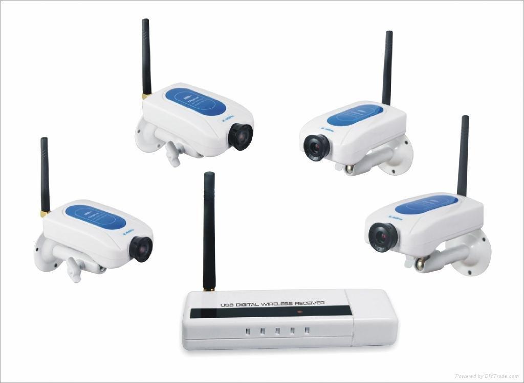 lampade a led wireless nuovi trend : Kit Telecamera wireless Analogica WD213DE4 da interno eBay