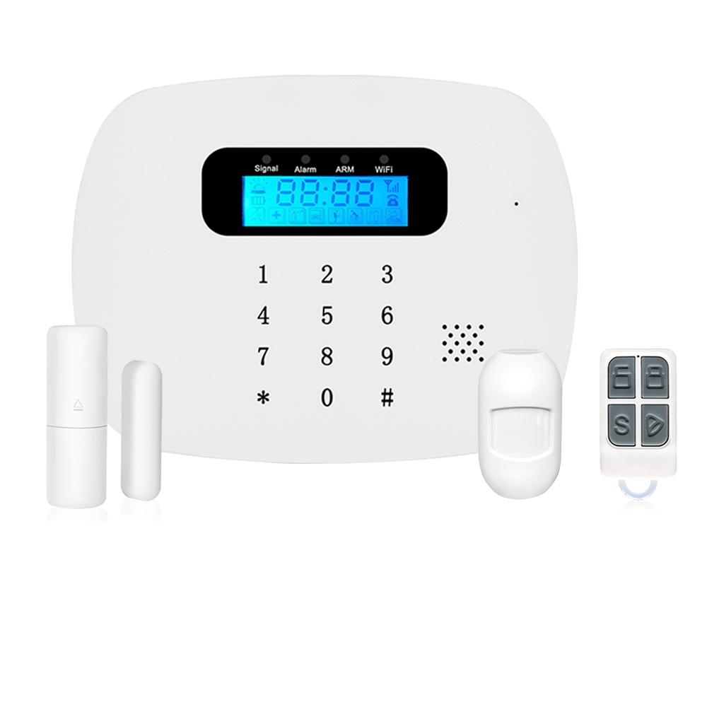 Antifurto casa Wireless IRIS Lite LKM Security Allarme Wifi con tastiera touch screen e sensori Wireless Compatibile con Tuya
