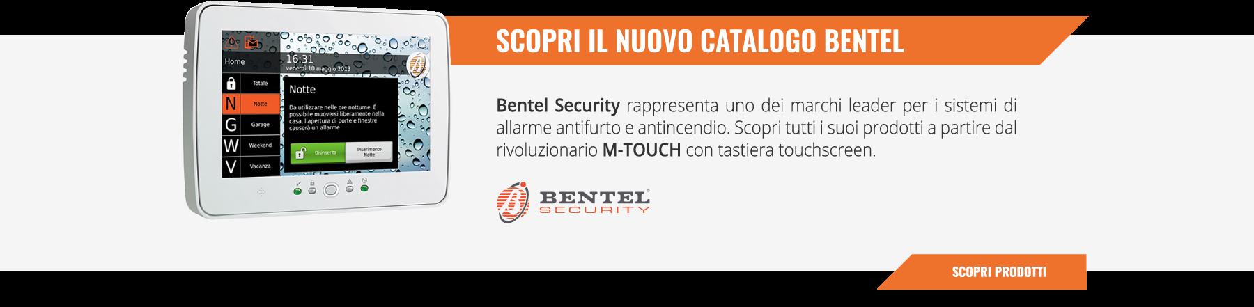 Scopri il nuovo catalogo Bentel