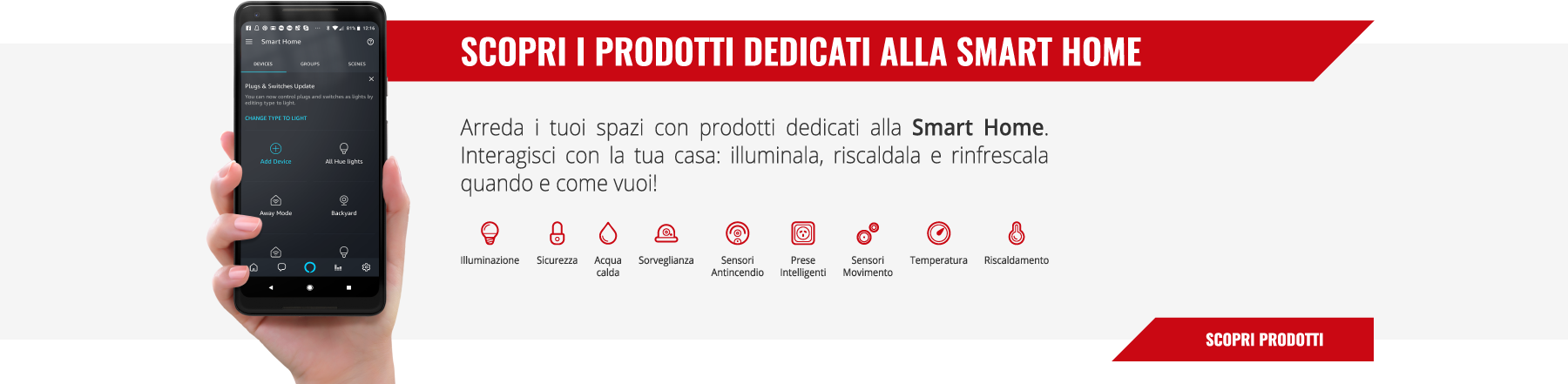Prodotti Smart Home