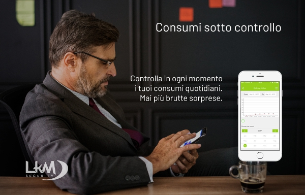interruttore luci Smart Home Wifi - controllo consumi