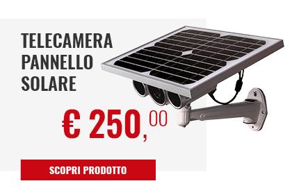 Telecamera pannello Solare LKM security