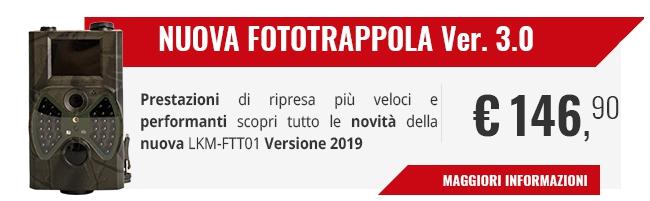 In arrivo la Nuova Fototrappola 2018