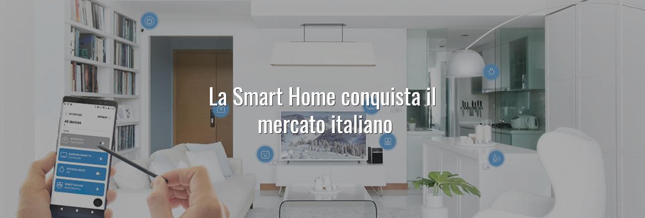 La Smart Home conquista il mercato italiano