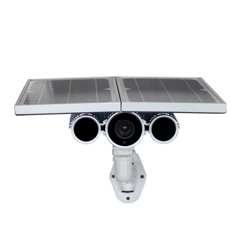 Telecamera con pannello solare e batteria da Esterno IP Wireless LKM Security P2P Wifi HD 720P