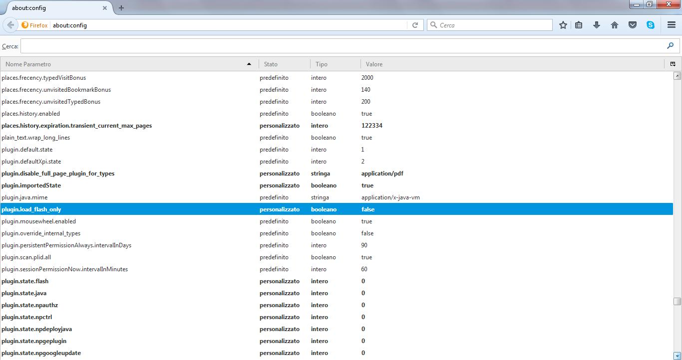Perchè non mi si scarica il plugin Foscam su Firefox e Chrome
